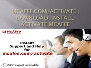 Mcafee Activate - Download, Install, Activate Mcafee