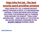 Security Services   Best Security Guard Services in Delhi---