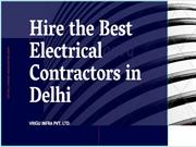 Electrical Contractor in Delhi | Best Electrical Contractors Delhi