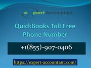 QuickBooks Toll Free Phone Number | 855-907-0406