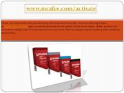 www.Mcafee.com/activate | Enter your 25 digit activation code