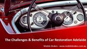 The Challenges & Benefits of Car Restoration Adelaide