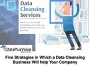 Why Data Cleansing Services is Very Important?