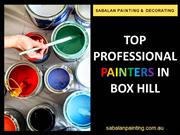 Top Professional Painters in Box Hill