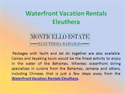 Waterfront Vacation Rentals Eleuthera