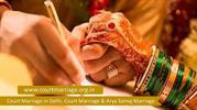 Court Marriage in Delhi, Court Marriage & Arya Samaj Marriage-converte