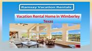 vacation rental home in Wimberley Texas