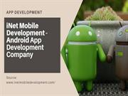 Android App - Mobile App – iNet Mobile Development
