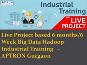 Big Data Hadoop Industrial Training Course  - APTRON Gurgaon