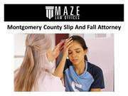 Montgomery County Slip And Fall Attorney
