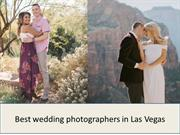 Best wedding photographers in Las Vegas