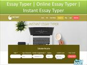 Write my essay for free