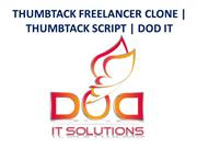 THUMBTACK FREELANCER CLONE | THUMBTACK SCRIPT | DOD IT