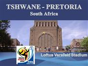 TSHWANE -PRETORIA -South Africa