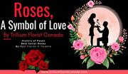 Bouquet of Roses by Trillium Florist Canada, A Symbol of Love