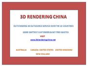 3D Architectural Rendering Outsource best 3d architectural renders