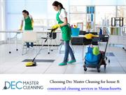 Decmaster Cleaning Company Provides Finest Commercial Cleaning