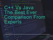 C++ vs Java Which is best for future