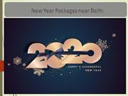 New Year Packages near Delhi - New Year Party 2020