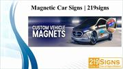 Magnetic car signs _Custom vehicle magnets_219 signs