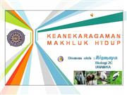 Keanekaragaman Makhluk Hidup