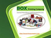 Custom Printed Boxes and Packaging