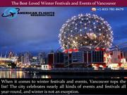 The Best-Loved Winter Festivals and Events of Vancouver