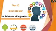 What are the top 10 most popular social networking websites