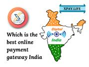 Which is the best online payment gateway India