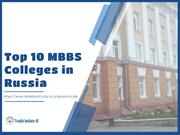 Top 10 MBBS College in Russia : Twinkle Institute