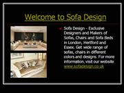 Sofa Designers and Makers