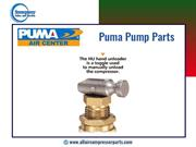 One-Stop-Shop for Puma Pump Parts at Emergency Sales and Services