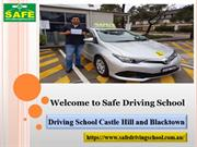 Driving School Castle Hill and Blacktown