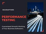 Performance Testing Services To Improve System Performance