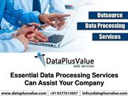 Impressive Data Processing Services to Run Effective Businesse