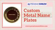 Embossed Metal Name Plates | By Employing Various Services