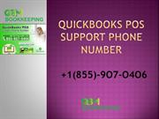 QuickBooks POS Support Phone Number | 855-9O7-O4O6