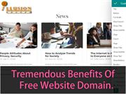 Tremendous Benefits Of Free Website Domain.