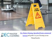 Do You Want To Hire Commercial Cleaning Service - Contact Us