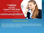 Mcafee Activate - Download, Install and Activate Mcafee