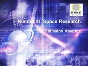 Humboldt Space Research America | Mission America