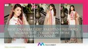 Shop Anarkali Suit, Pakistani Suit And Salwar Suit Collection From MYS
