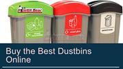 Why Material matters Recycling bins and trash bins?