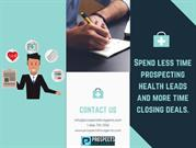 Spend less time prospecting health leads and more time closing deals