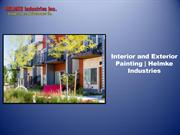 Interior and Exterior Painting | Helmke Industries