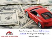 Where can get top cash for scrap cars - Cash For Scrap Cars