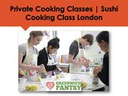 Sushi Cooking Class In London | Private Cooking Classes