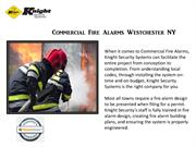 Commercial Fire Alarms Westchester NY