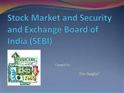 share market and SEBI - Dev Saighal