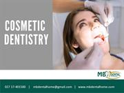 What does Cosmetic Dentistry include